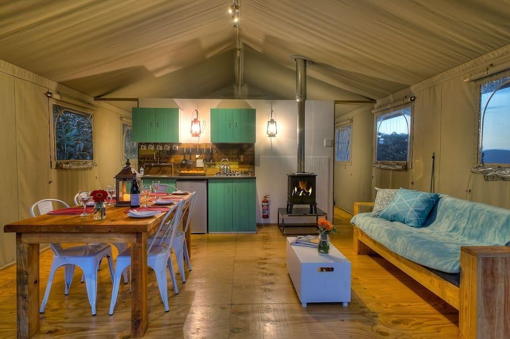 Luxusný stan - Obývačka