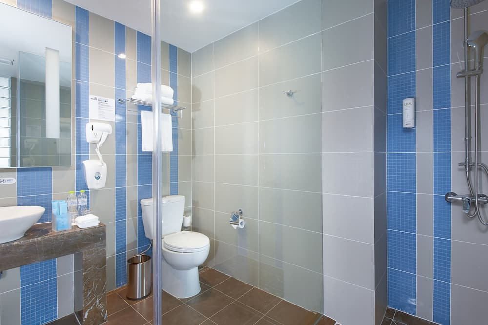 Стандартный номер, 2 односпальные кровати, для некурящих (Extra Floor Space) - Ванная комната