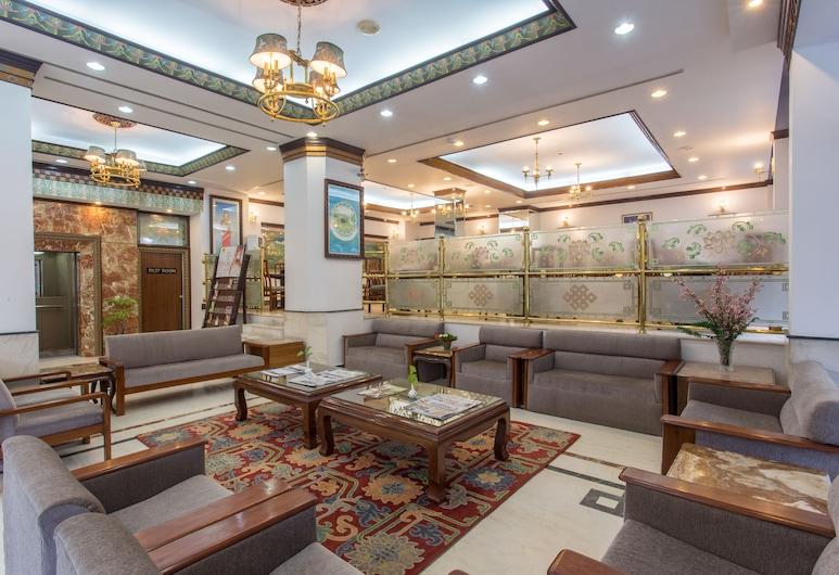 Hotel Le Himalaya, Katmandu, Sitzecke in der Lobby