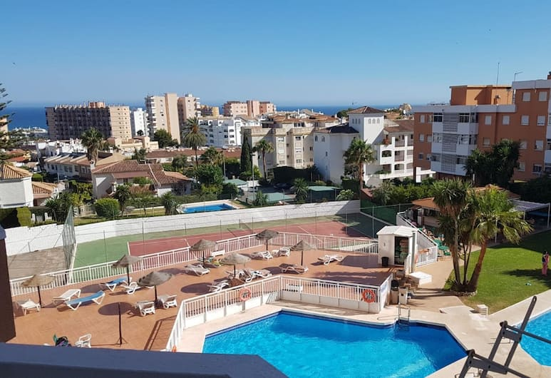 Studio in Torremolinos, With Wonderful sea View, Pool Access and Furnished Terrace - 700 m From the Beach, Torremolinos