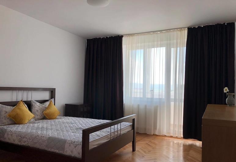 Turda Apartment, Turdaș, apartman, több ágy, nemdohányzó, erkély, Szoba