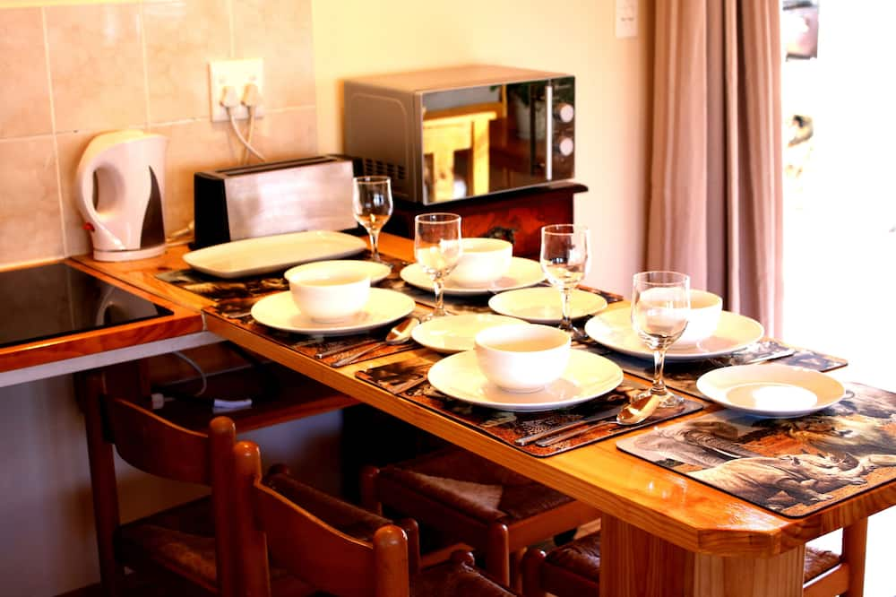 Casa de campo familiar - Servicio de comidas en la habitación