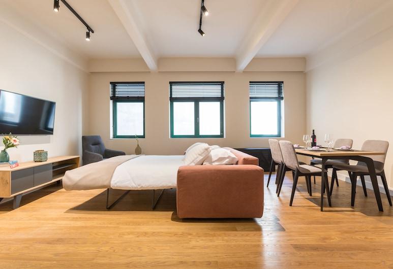 클렙시드라 어번 스위트, 아테네, 디럭스 아파트, 객실