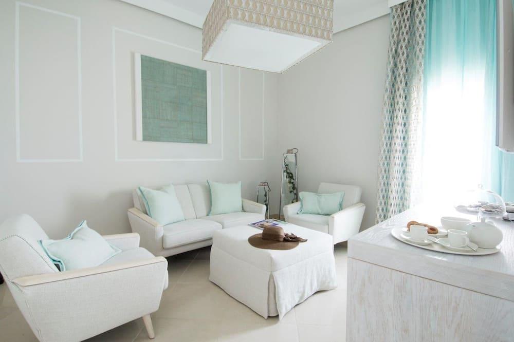 Luksuzni suite, pogled na more - Dnevni boravak