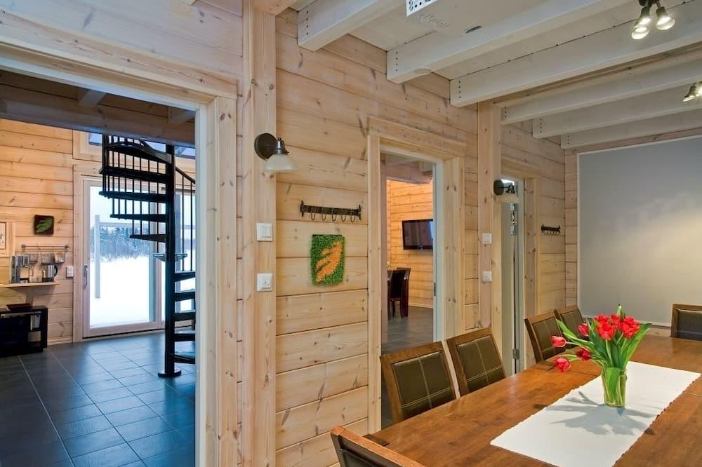 Casa de campo de diseño, 3 habitaciones, sauna - Sala de estar