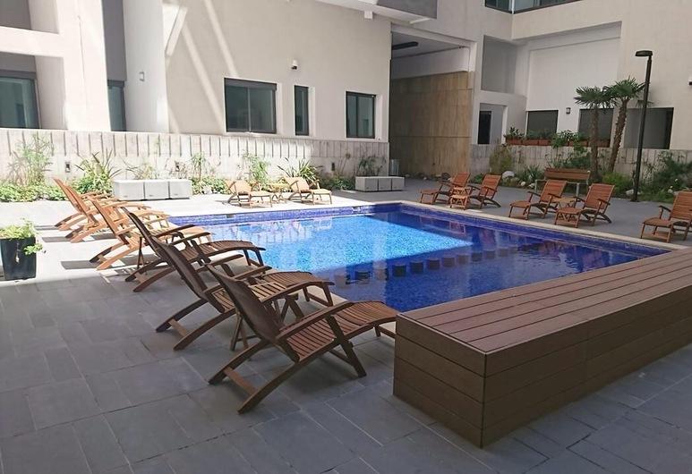 Corniche Mohammedia Appartement meublé, Mohammedia, Piscina al aire libre