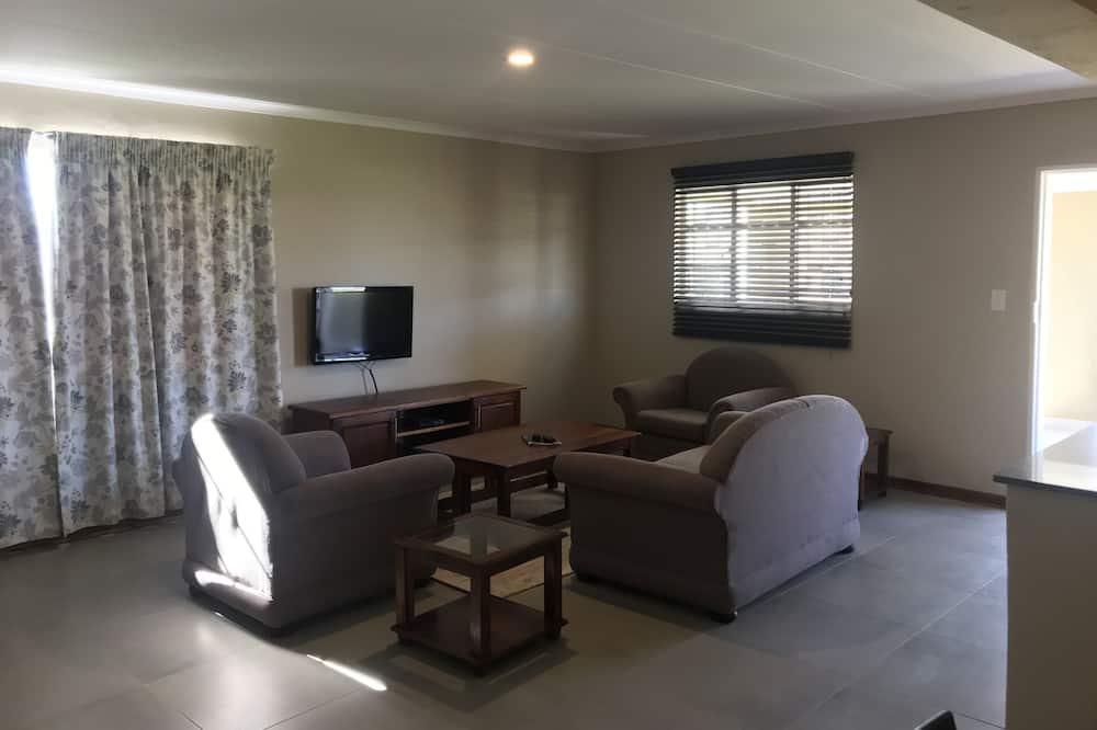 Comfort Cottage, 2 Twin Beds, Non Smoking - Living Room