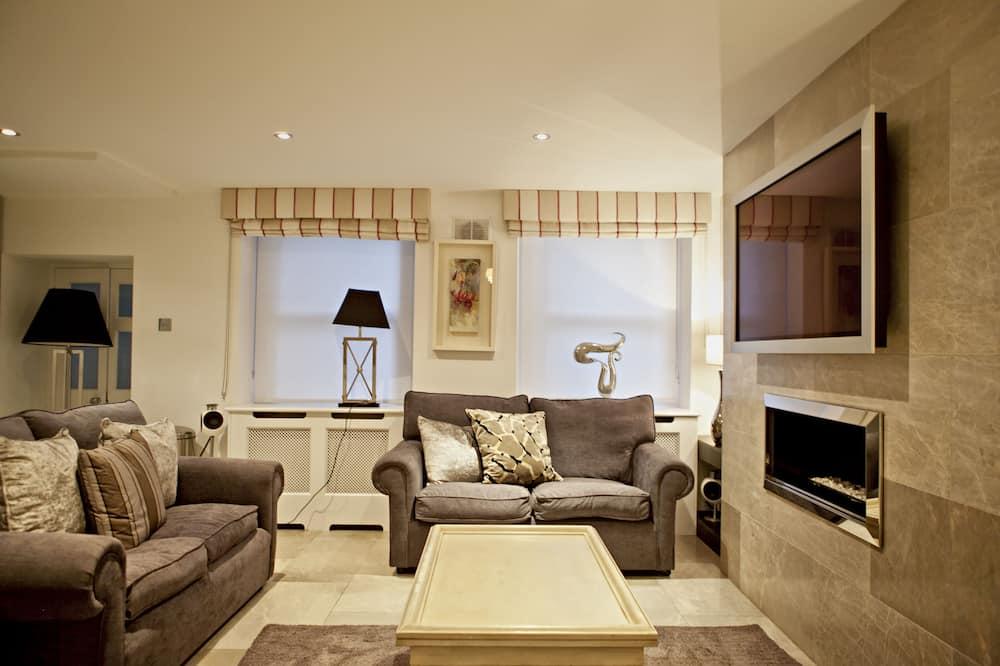 公寓, 3 張單人床, 非吸煙房 - 客廳