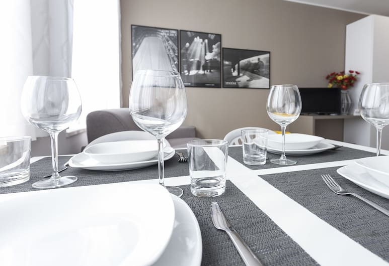إيتاليان واي - كادورنا 10 فلات إيه, ميلانو, شقة - غرفة نوم واحدة, تناول الطعام داخل الغرفة