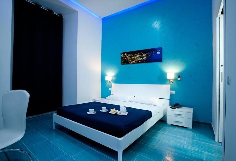 Mergellina Resort, Napoli, Dobbeltrom – superior, utsikt mot sjø, Gjesterom