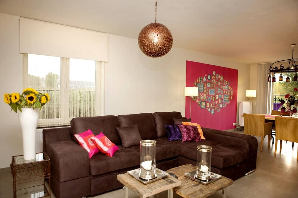 Nhà, 3 phòng ngủ, Quang cảnh vườn - Phòng khách