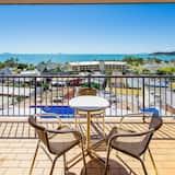 Сімейна студія, багатомісний номер, для некурців, з видом на океан - Балкон