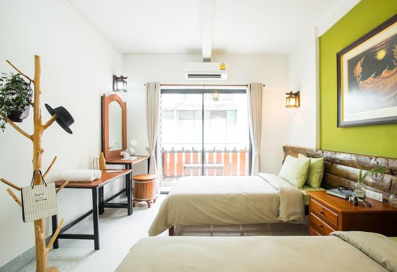 バンタット トン ホステル, バンコク, Standard Twin Room with Shared Bathroom, 部屋