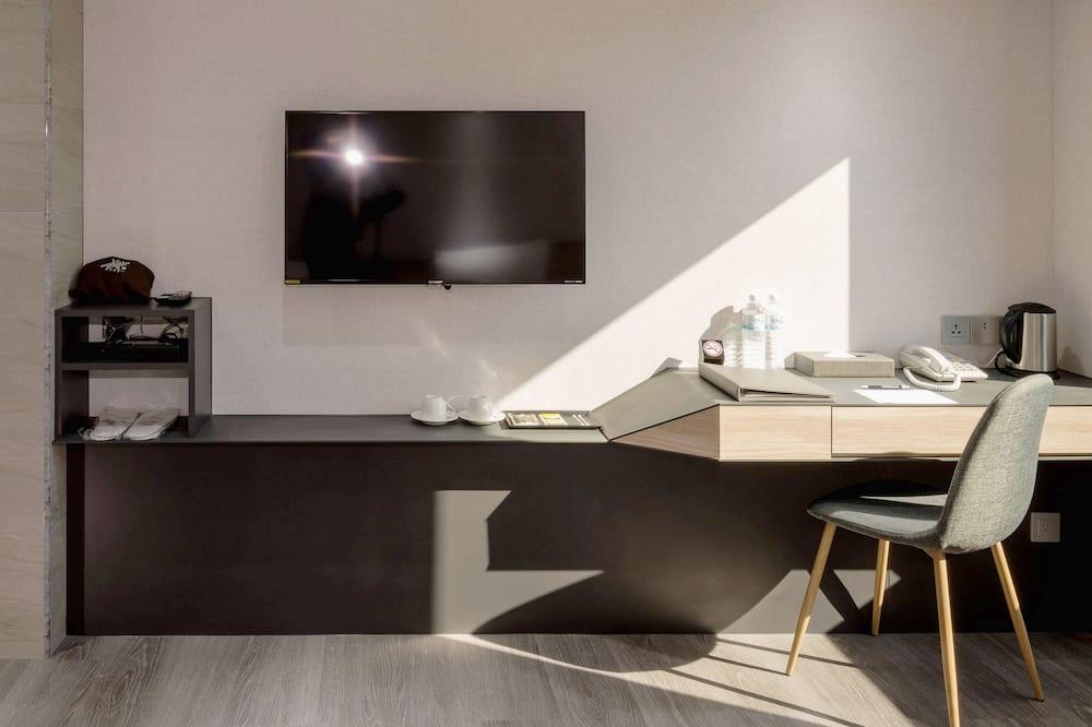Basic Tek Büyük Yataklı Oda - Oturma Alanı