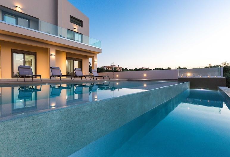 Villa Estel, Chania, Udendørs pool