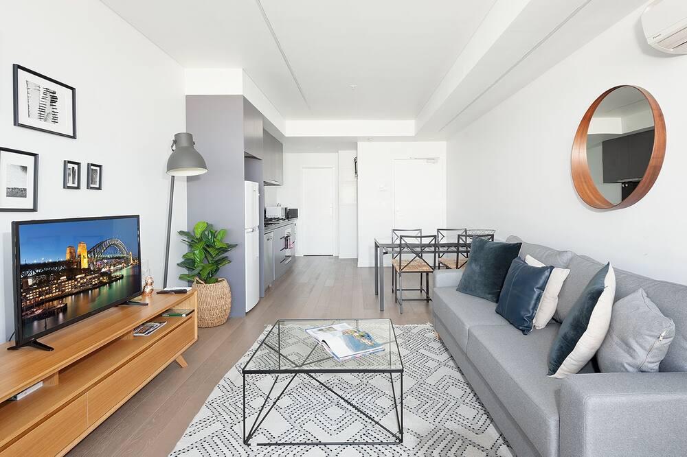 Apartamentai, 1 miegamasis, atskiras vonios kambarys, vaizdas į miestą - Vaizdas į miestą