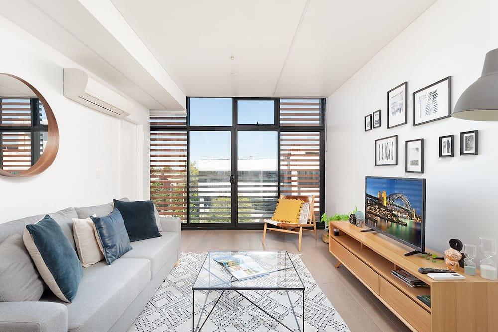 Apartamentai, 1 miegamasis, atskiras vonios kambarys, vaizdas į miestą - Pagrindinė nuotrauka