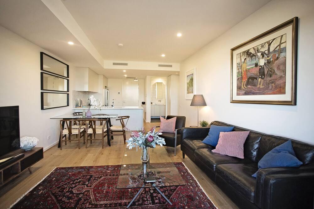 Executive-Apartment, 2Schlafzimmer, 2 Bäder - Wohnbereich