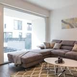 尊尚公寓, 1 張特大雙人床 - 客廳