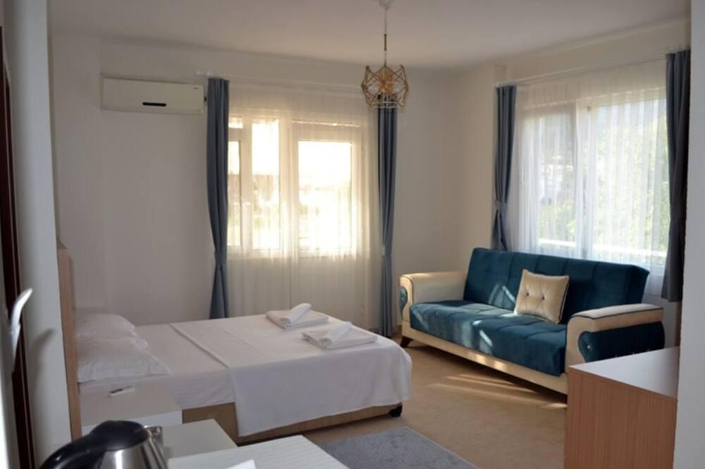 Štúdiový apartmán typu Elite - Obývacie priestory