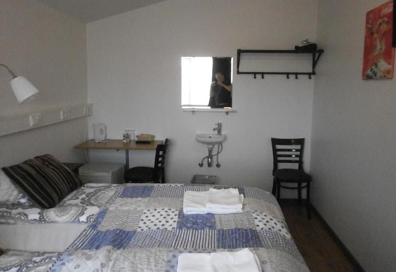 勘斯拉里青年旅舍, Rangárþing ytra, 標準雙人或雙床房, 共用浴室, 客房