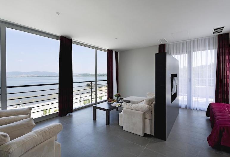 Hotel Romantique Plaza Dojran, Nov Dojran, Deluxe-Suite, Nichtraucher, Ausblick vom Zimmer