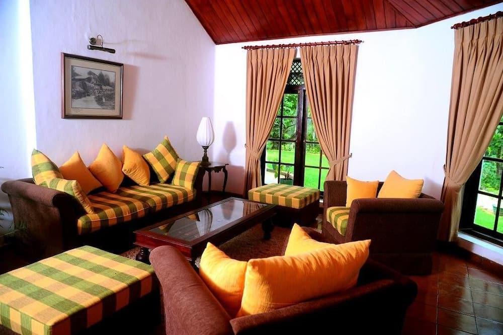 Bungalow, 5 habitaciones, para no fumadores - Sala de estar