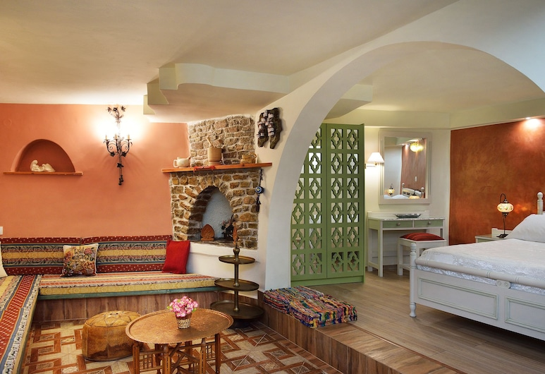Casa della Favola - Adults Only, Chania, Junior Suite, 1 Double Bed (Five), Guest Room