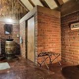 Cabana de Madeira Clássica, várias camas - Casa de banho