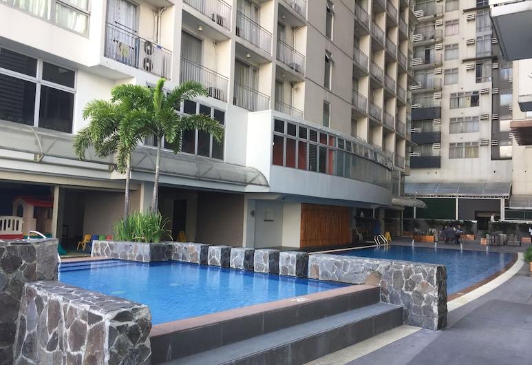 塞雷纳套房(马卡蒂大道)酒店, 马卡蒂, 室外游泳池