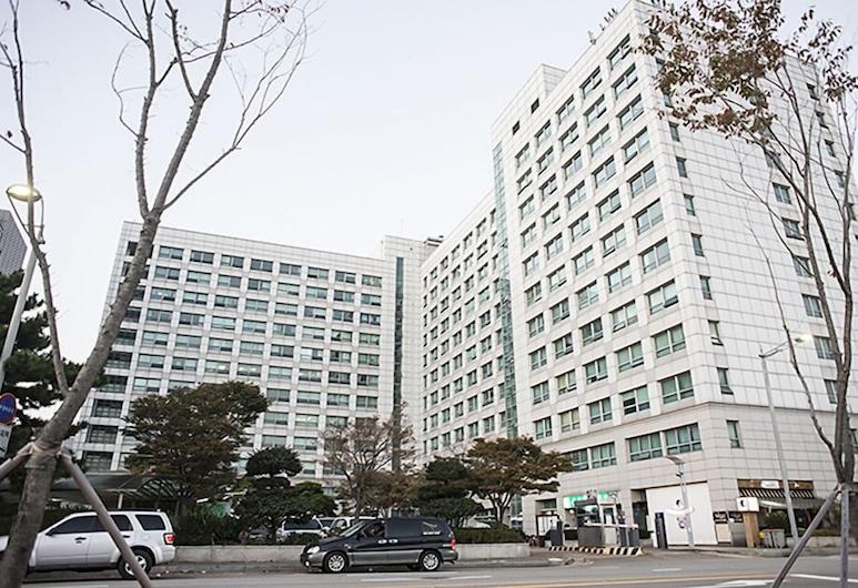 好住旅館膠囊飯店, 仁川, 飯店入口
