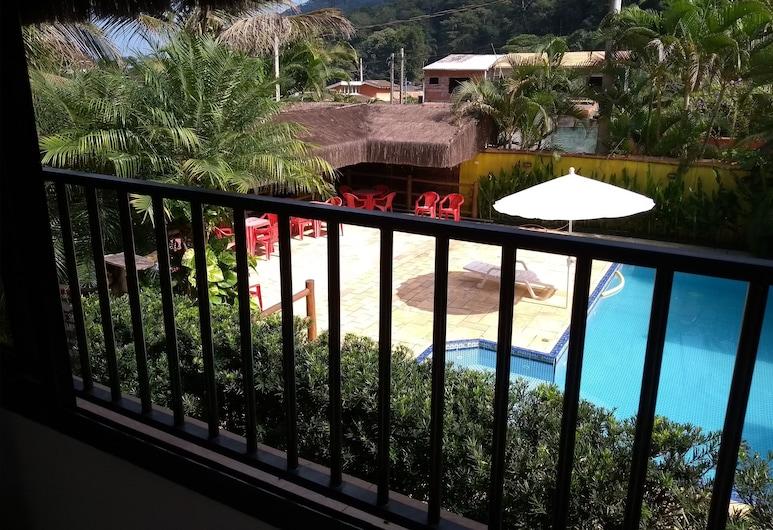 Rc Sol de Boiçucanga Suites, São Sebastião, Premium kamer, 1 slaapkamer, Balkon, uitzicht op tuin, Balkon