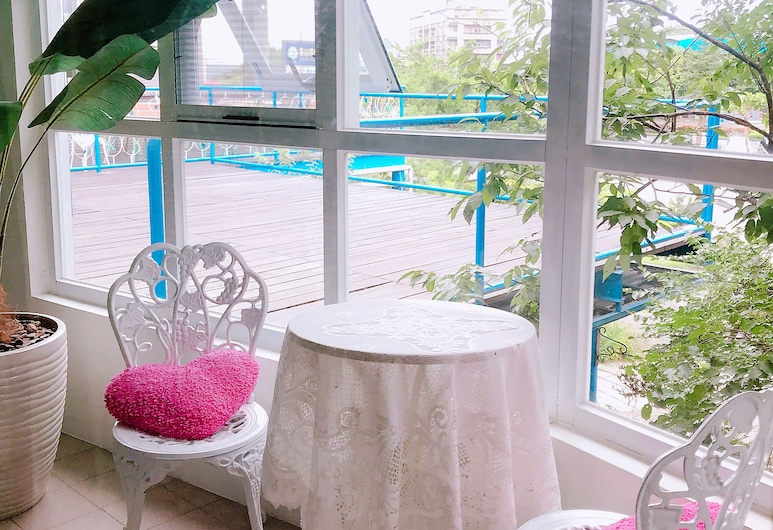 Jin Ri Lin B&B, Dunšaņa, Paaugstināta komforta divvietīgs numurs, 1 divguļamā gulta, Viesu numurs