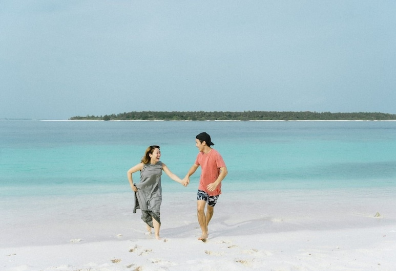 Thundi Village Maldives, Maalhos, Strand