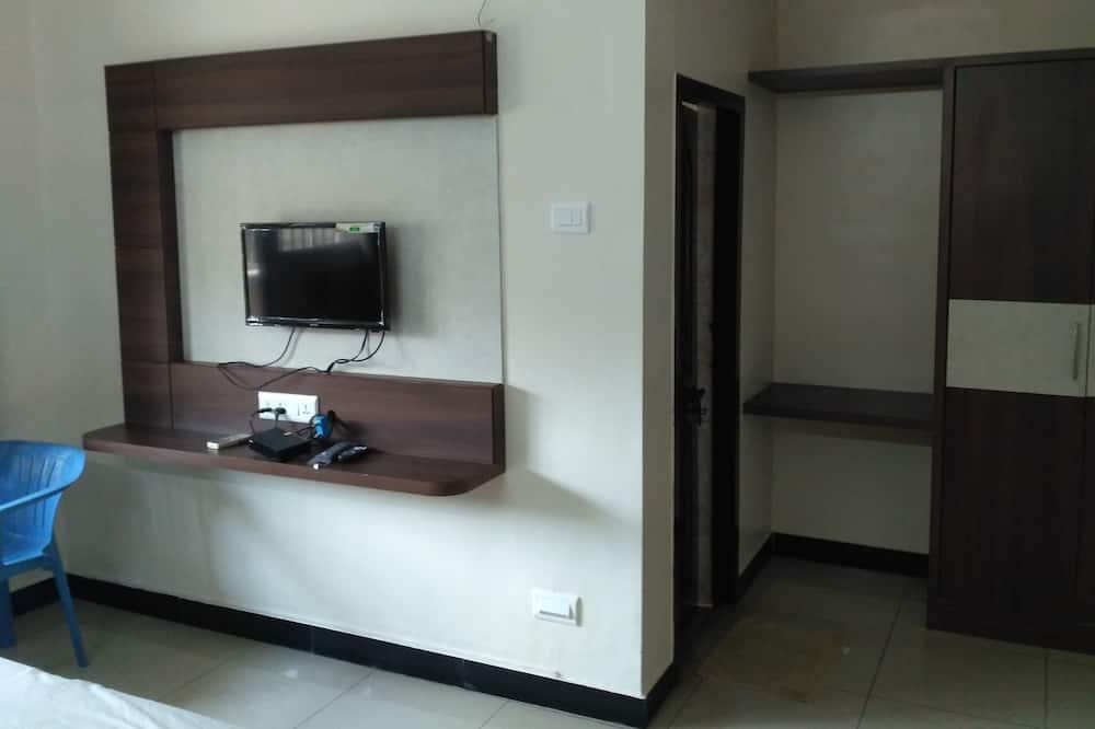 Liukso klasės kambarys, 1 standartinė dvigulė lova, Nerūkantiesiems - Svečių kambarys