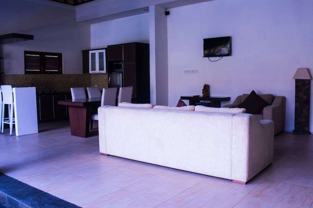 Villa Topeng, Private Pool - Living Area