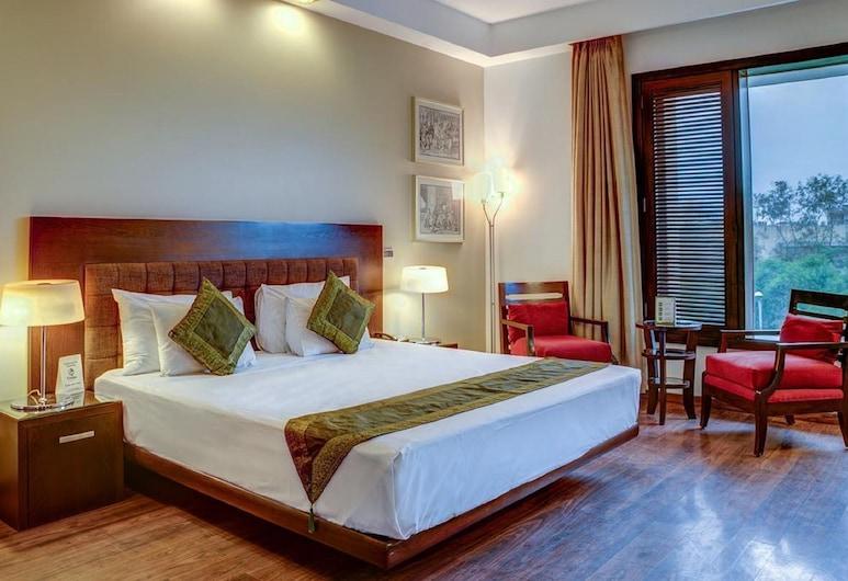 Hotel Sky View, Yeni Delhi, Deluxe Tek Büyük veya İki Ayrı Yataklı Oda, Oda