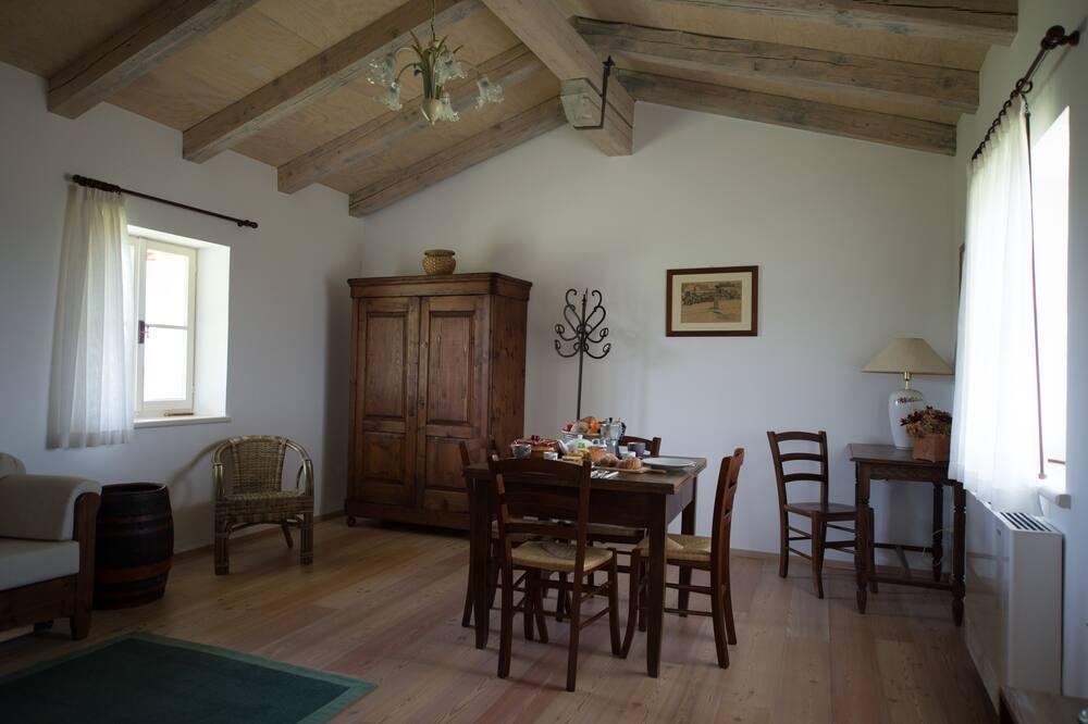 Dupleks, 1 kamar tidur, pemandangan kebun, gedung tambahan (Bora) - Area Keluarga
