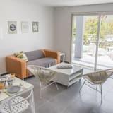 Dizajnový dvojposchodový apartmán - Obývacie priestory