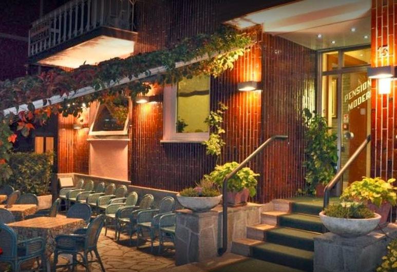 Albergo Moderna, Salsomaggiore Terme, Terraza o patio