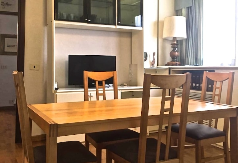 Residence St Joannes, Rome, Apartment, 1 Bedroom, Living Area