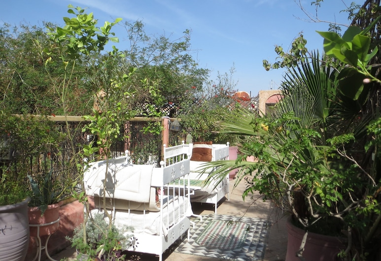 Riad Maizie, Marrakech, Terras