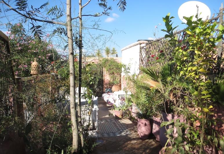 Riad Maizie, Marrakech, Trädgård