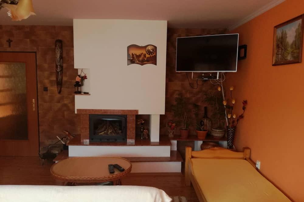 컴포트 아파트, 침실 2개 - 거실 공간