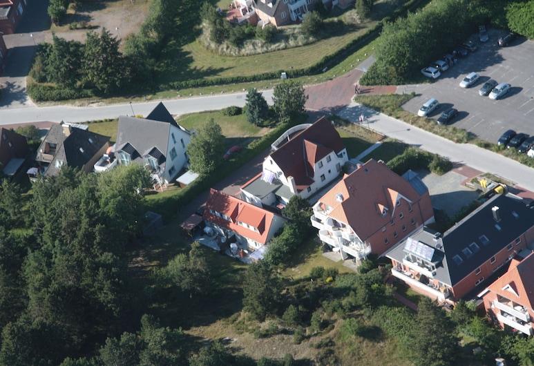 Haus Hartwig, St. Peter-Ording, Ansicht von oben