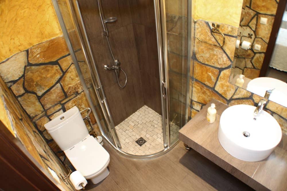 Værelse med 2 enkeltsenge - privat badeværelse - Badeværelse
