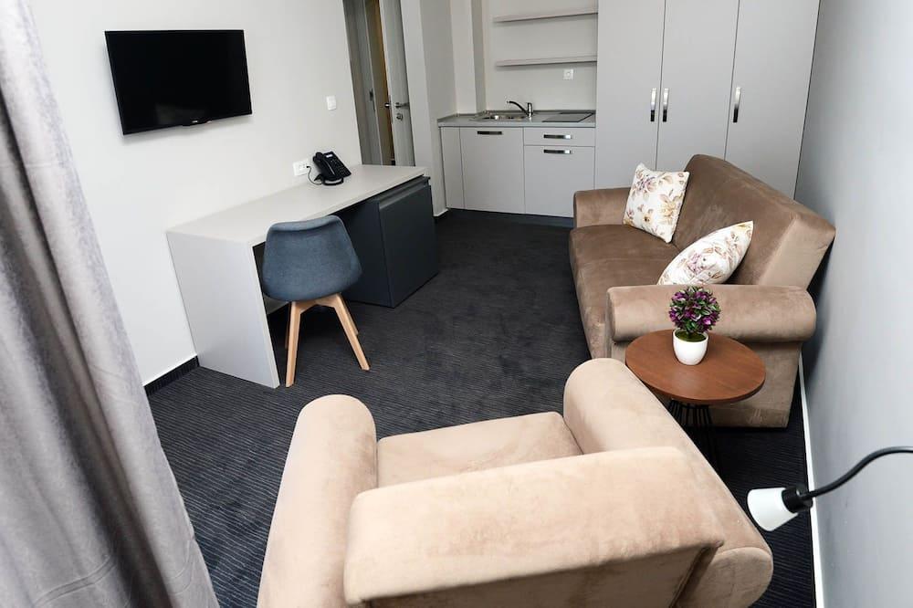 디럭스 아파트 - 거실 공간