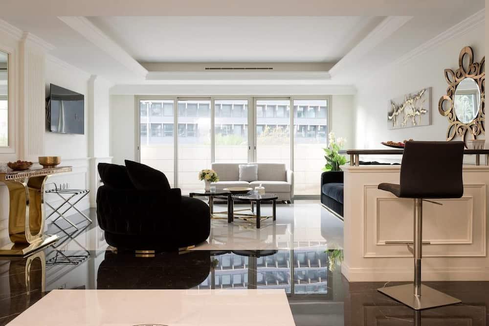 Luxus apartman, 1 hálószobával - Nappali