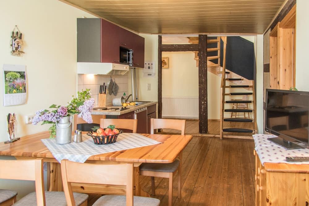 อพาร์ทเมนท์, 2 ห้องนอน (Ferienwohnung Kuh) - พื้นที่นั่งเล่น