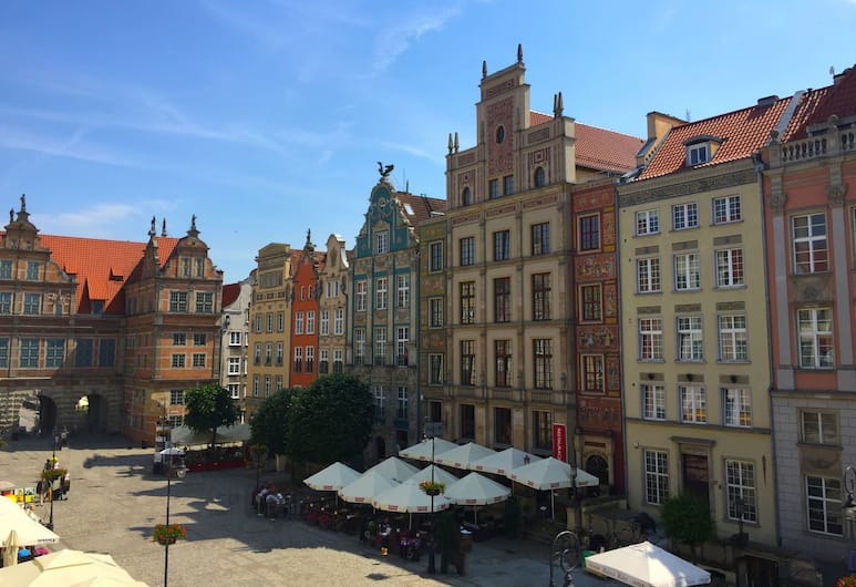 Gdańsk Old Town Apartments, Gdansk, Apartment, 2 Bedrooms, City View (Dlugi Targ 35), City View